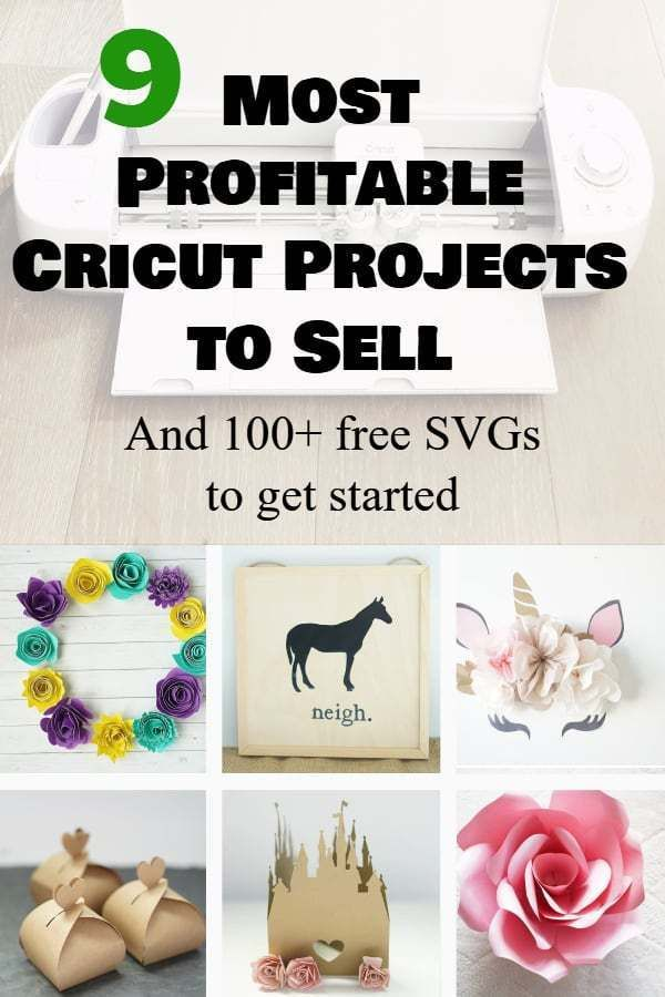 easy things to make and sell with cricut