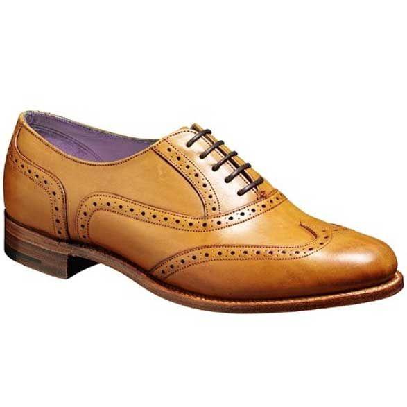 Barker Ladies Shoes - Freya - Cedar Calf - Women's Brogue