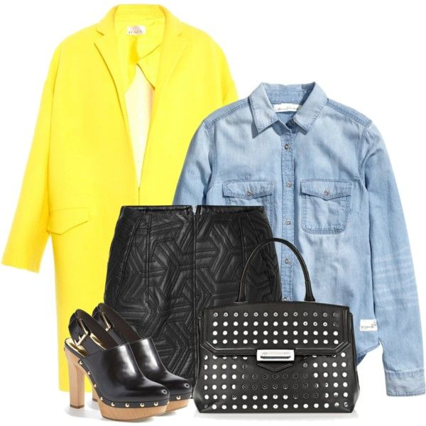 Untitled #231 by leehyena on Polyvore featuring H&M, Raey, Faith Connexion and MICHAEL Michael Kors