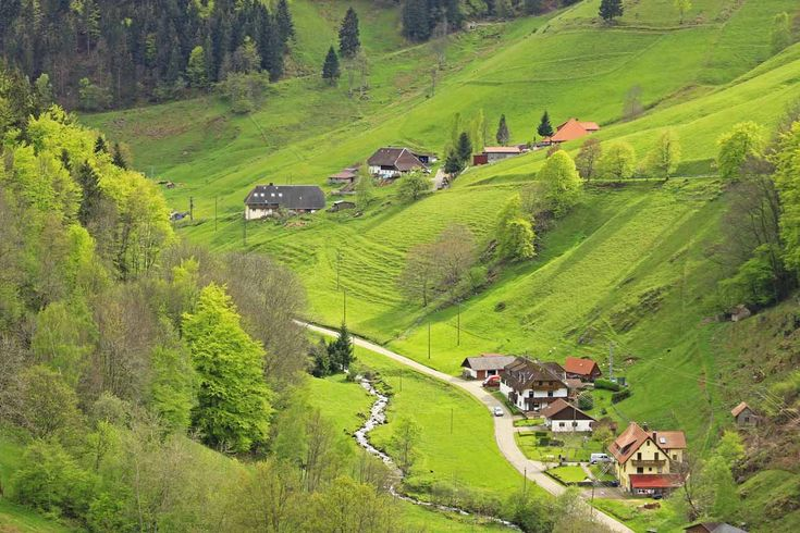 The Black Forest, Germany invites many travelers to its stunning scenery, hiking routes, ski slopes and distinctly beautiful views. It is vast, extensive