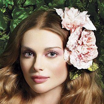Garden wedding makeup