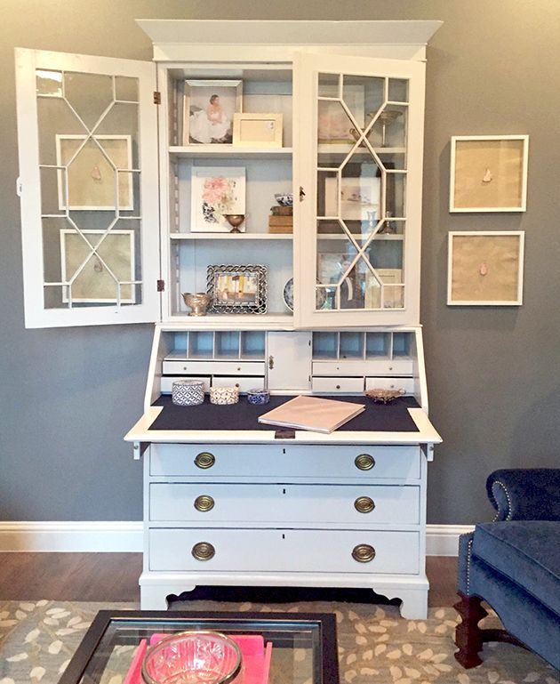 Antique Secretary Makeover Furniture IdeasRecycled FurnitureDining Room