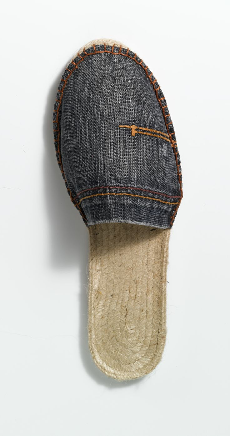 Espadrilles denim, for more inspiration click here: http://www.prymyourstyle.com/index_gb.html