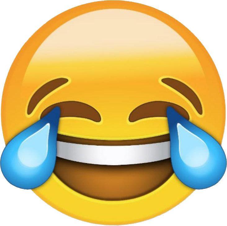 Laughing Emoji Sticker By Hwiteman In 2021 Laughing Emoji Emoji Stickers Emoji Pictures