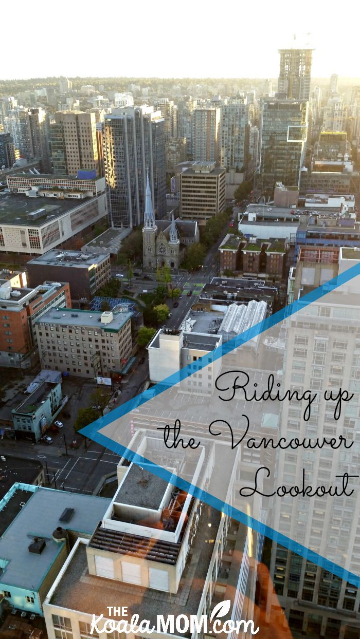 We take a ride up the Vancouver Lookout and enjoy the birds-eye view of our city, spotting favourite local attractions like Stanley Park and Canada Place.