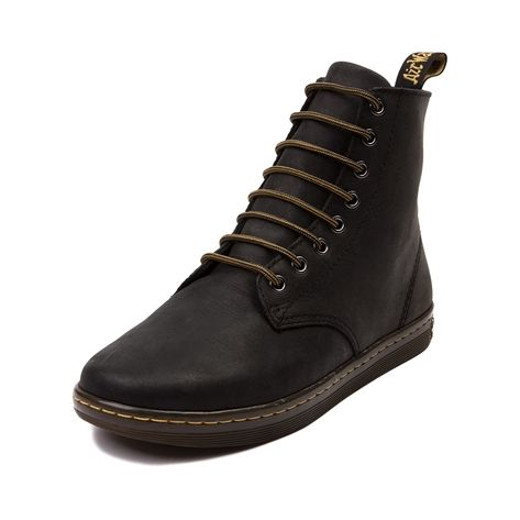 Rock the classic Dr. Martens look while staying light on your feet! The  Tobias combines the feel of an everyday sneaker with the timeless boot  features of ...