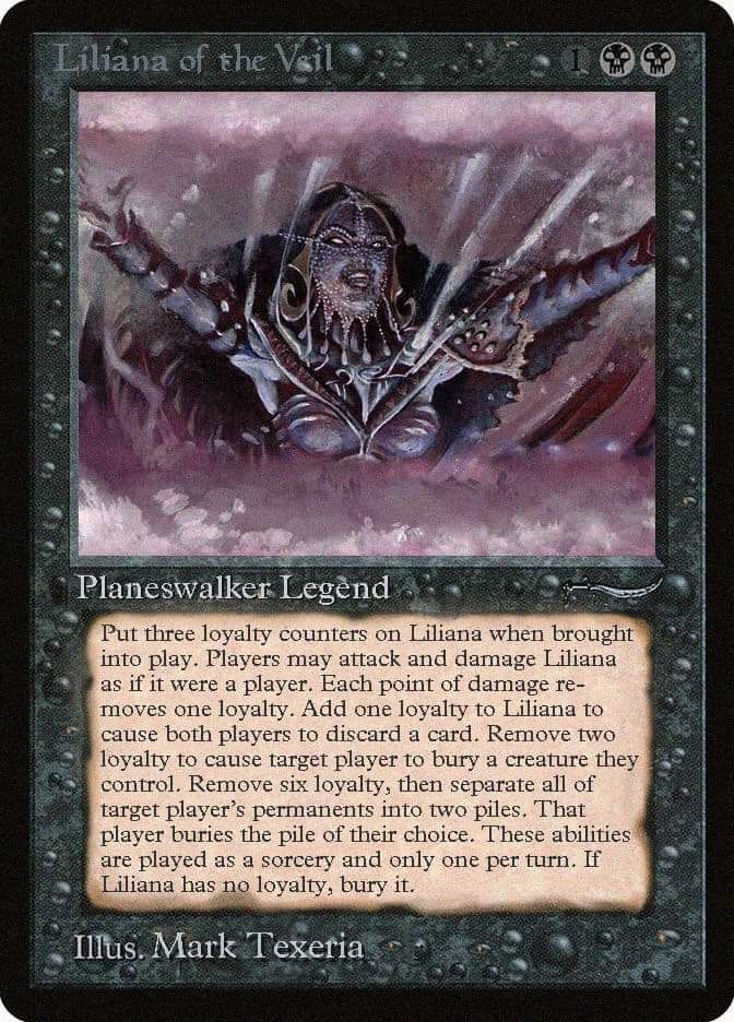 Liliana Of The Veil Old School Magic The Gathering The Gathering Book Cover
