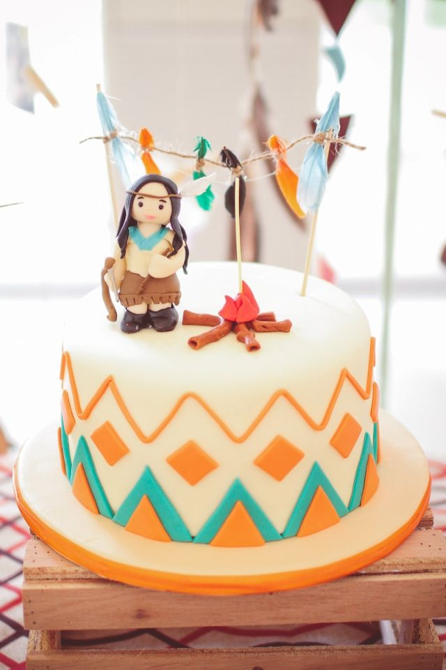 Breña's Little Indian Pow Wow Party – Cake