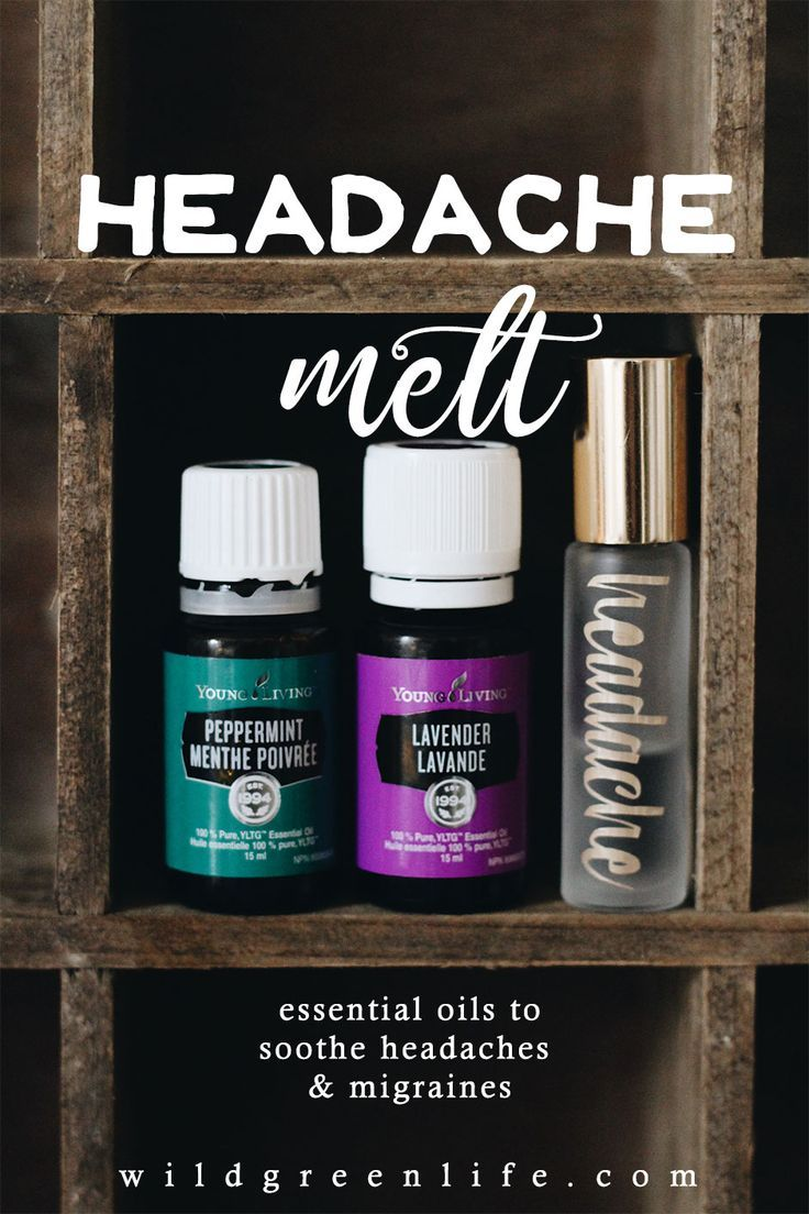 The easiest and best natural headache remedy ever - with young living essential oils. Click through to read more, or pin to save for later!