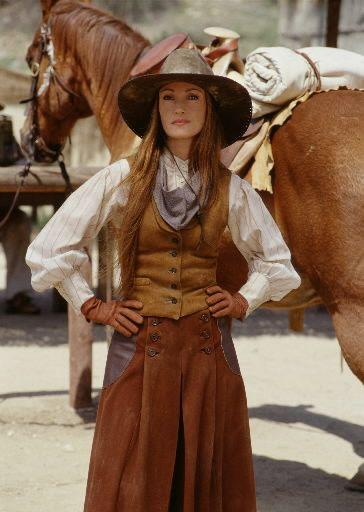 "Jane Seymour - ""Dr. Quinn Medicine Woman"" (TV 1993 - 1998) - Costumes designers : C. Ingle, B. Glyttov, D.Baca"