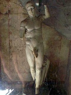 Priapus statue, Pompei
