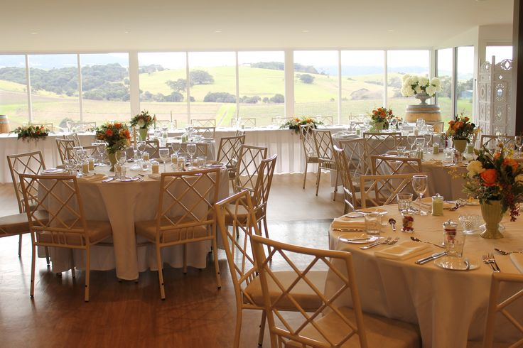 A beautiful wedding venue, stunning winery views and delicious food and wine @Crooked River Wines