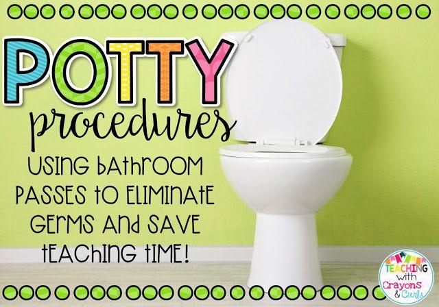 Bathroom Procedures for the Classroom made EASY!