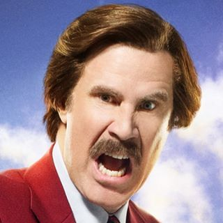 Ron Burgundy...YES!!! ...