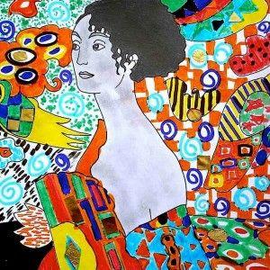 Firsts 4 printable worksheets about Gustav Klimt