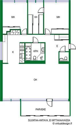 For Sale Apartment house 4 rooms - Helsinki Merihaka Hakaniemenranta 16 - Etuovi.com 1184913