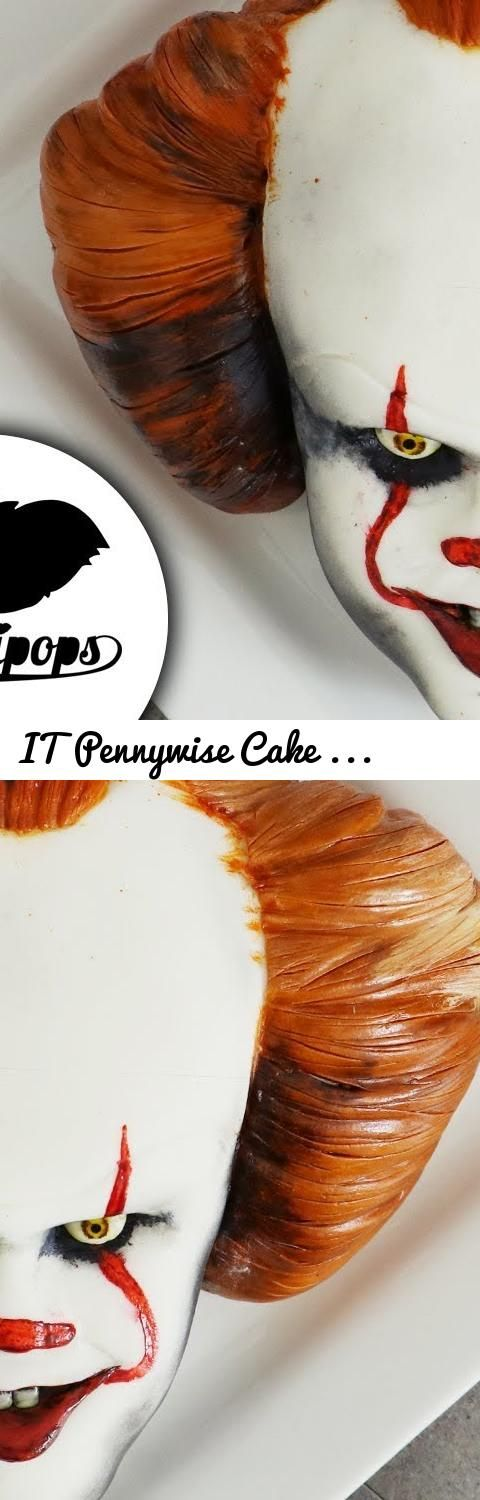 IT Pennywise Cake   Scary Halloween Ideas... Tags: It, it cake, pennywise, pennywise cake, halloween cake, halloween, it party ideas, pennywise ideas, halloween ideas, diy, how to, scary cake, scary cake ideas, scary cake ideas