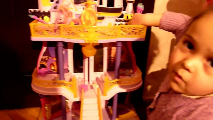 Май Литл Пони Замок Кантерлот Дворец Принцессы Силестии Спайк Флатершайн...