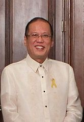 """Benigno S. Aquino III  The President of the Philippines (Filipino: Pangulo ng Pilipinas) is the head of state and head of government of the Philippines. The president leads the executive branch of the Philippine government and is the commander-in-chief of the Armed Forces of the Philippines. The President of the Philippines in Filipino is referred to as Ang Pangulo or Pangulo (or informally, """"Presidente"""")."""
