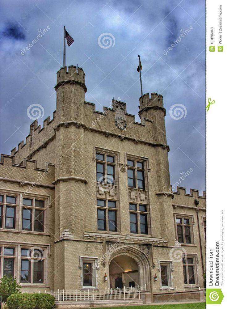 College Of Wooster Collegiate  Gothic, Ohio - Download From Over 67 Million High Quality Stock Photos, Images, Vectors. Sign up for FREE today. Image: 101696943