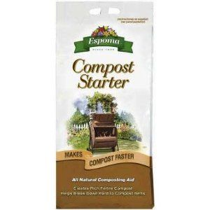 Espoma CS3 3-1/2-Pound Compost Starter by Espoma. $13.99. Unique, 100-percent bio-organic mix. Compost starter. 3-1/2-Pound. bag. Includes heat active varieties, used to speed the decomposition of difficult materials.. Contains microbes cultured for fast, healthy composting. Espoma cs3 3-1/2-pound compost starter. Save 13% Off!