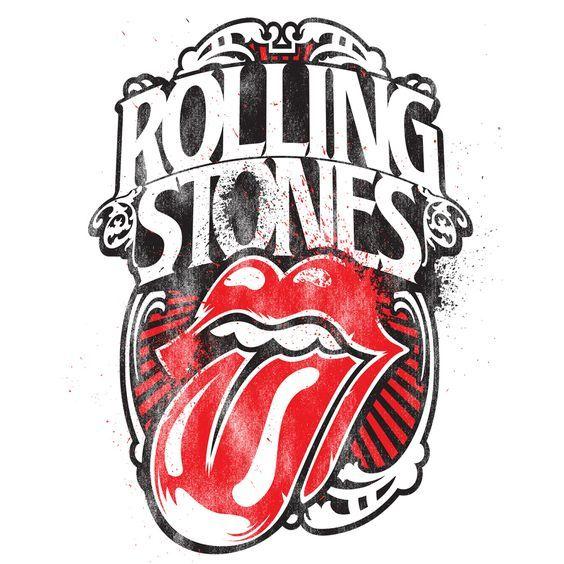 Camiseta dos Rolling Stones com estampa psicodélica à venda na Loja de Stones Planet Brazil