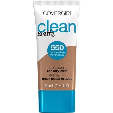 CoverGirl Clean Matte BB Cream For Medium/Deep SkinTone, 1 Oz