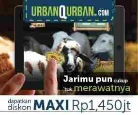 update Urban Qurban, Cukup Klik Untuk Berqurban