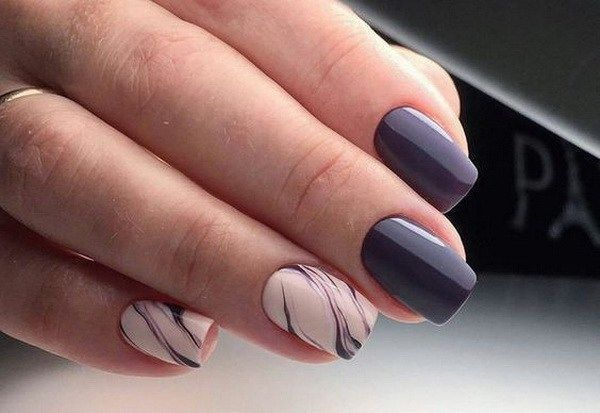 60+ Stylish Nail Designs for 2017. Nail art is another huge fashion trend besides the stylish hairstyle, clothes and elegant makeup for women. Nowadays, there are many ways to have beautiful nails with bright colors, different patterns and styles. #nailart