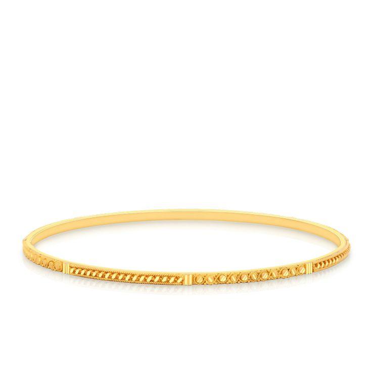 Thin Gold Bangle