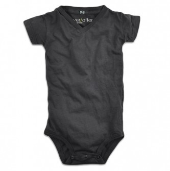 v-neck onesie, thank god cause we all know kirk wouldn't let our little one rock a crew cut neckline!