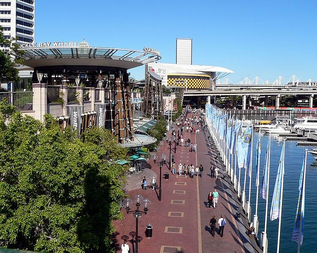 Darling Harbour again.