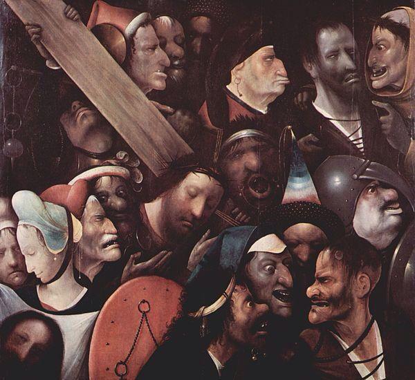 Cristo con la cruz a cuestas  El Bosco 1510