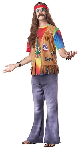 Hippie Men Costume #OyaCostumes