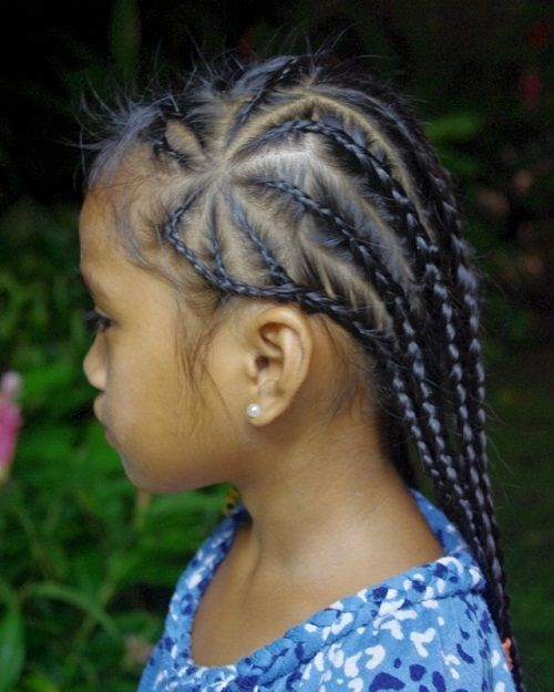 Don't know what to do for a back to school hair style? Try this amazing braided style on natural hair!!