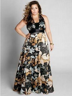 Linda GG: Pedido da leitora: Vestidos de festa plus size para madrinha de casamento.