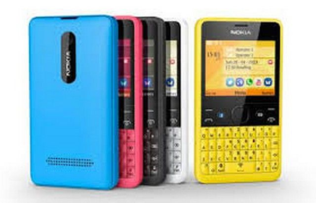 different color of qwerty Nokia phone