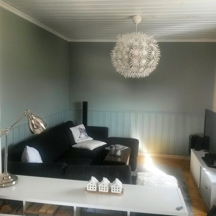 Jotun paint: Lady Pure Color and Lady Supreme Finish. Color on walls: Minty Breeze .