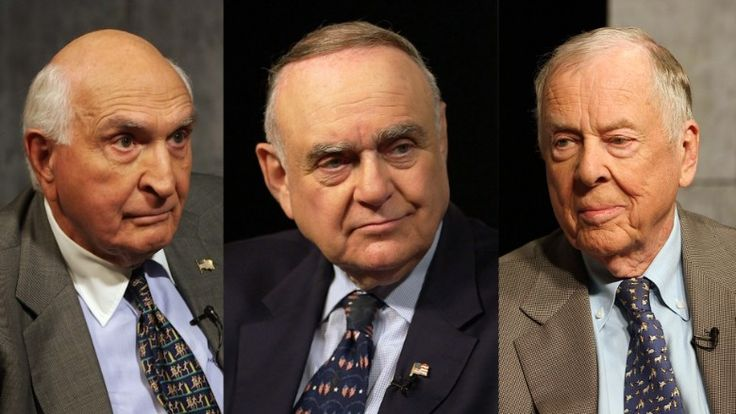 Leon Cooperman, T. Boone Pickens and Ken Langone talk about the presidential election, taxes and how they and other members of the 1% are 'vilified.'