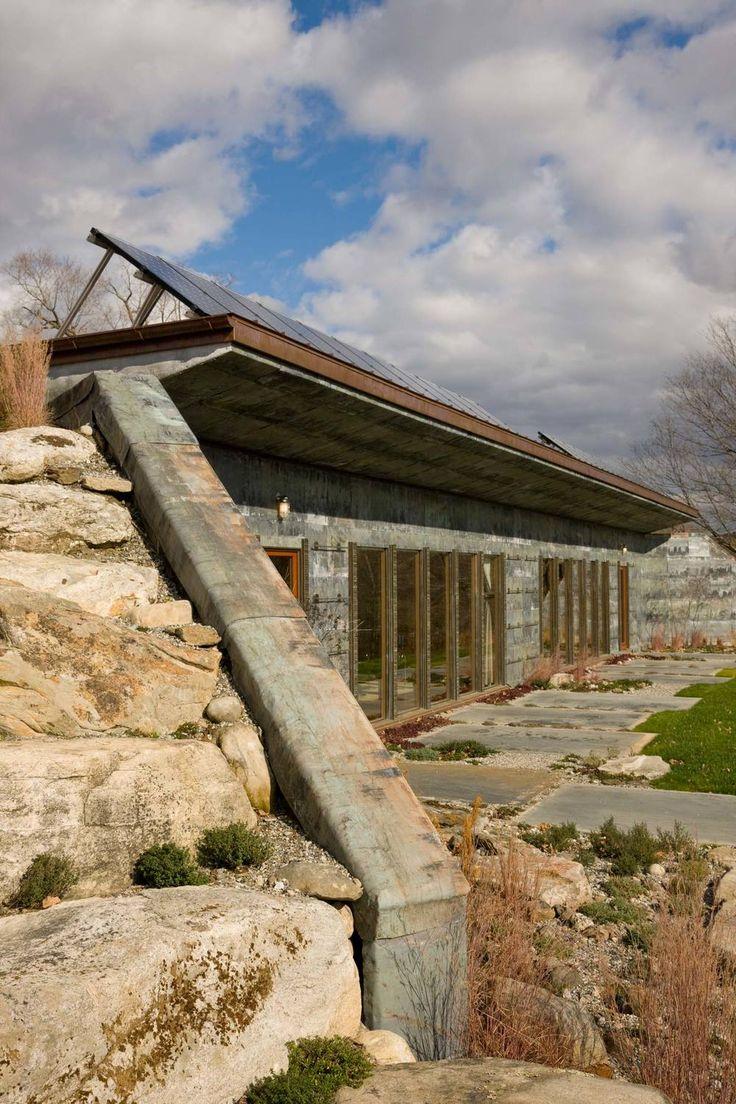 Earth Bermed House ALLAN SHOPE ARCHITECT Future Man