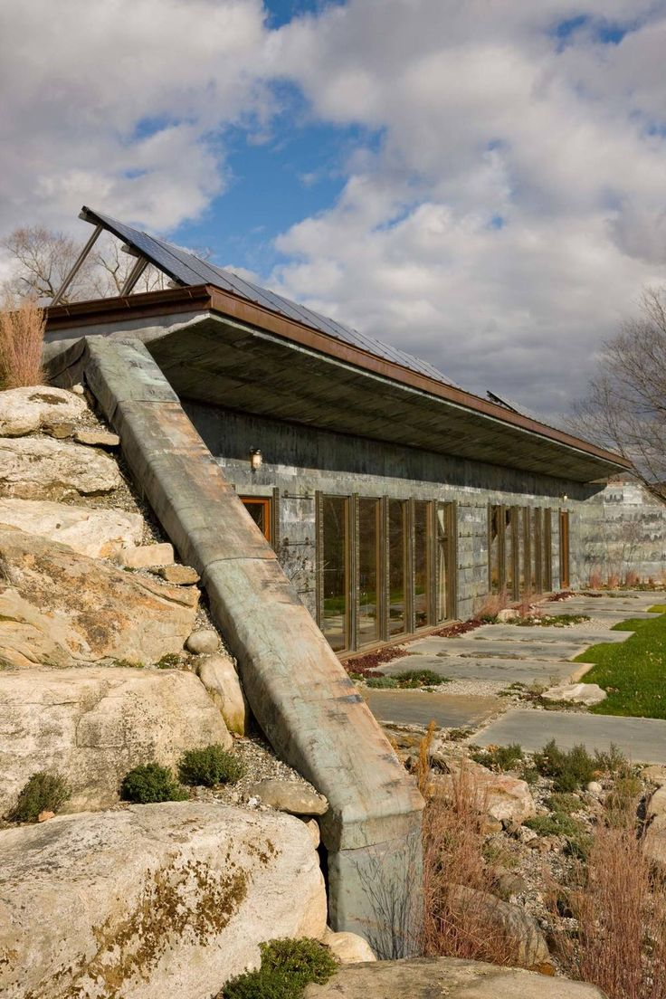 1445 best images about dream home ideas on pinterest for Earth bermed homes