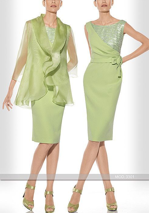 Vestido de madrina corto de Teresa Ripoll modelo 3301: