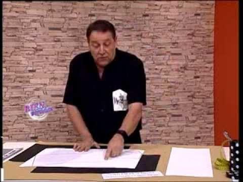 TRANSFORMACIONES  de  MOLDES  de PUNTO ARA TELAS   Hermenegildo Zampar - Bienvenidas TV -  Transformaciones de moldes de pu...