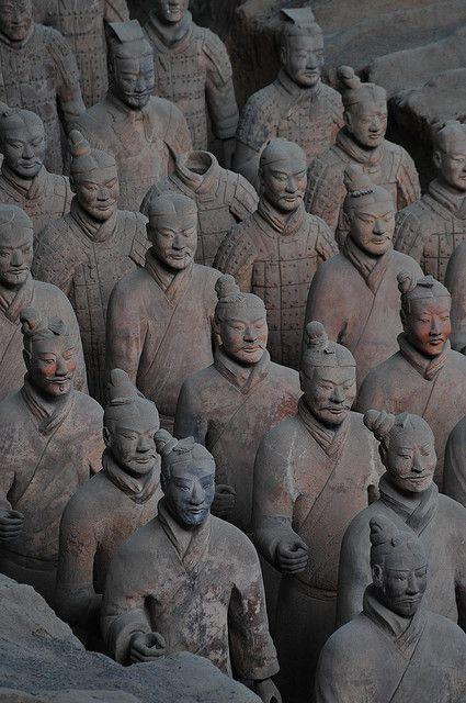 Terracotta Warriors in Xi'an, China – very impressive, indeed.