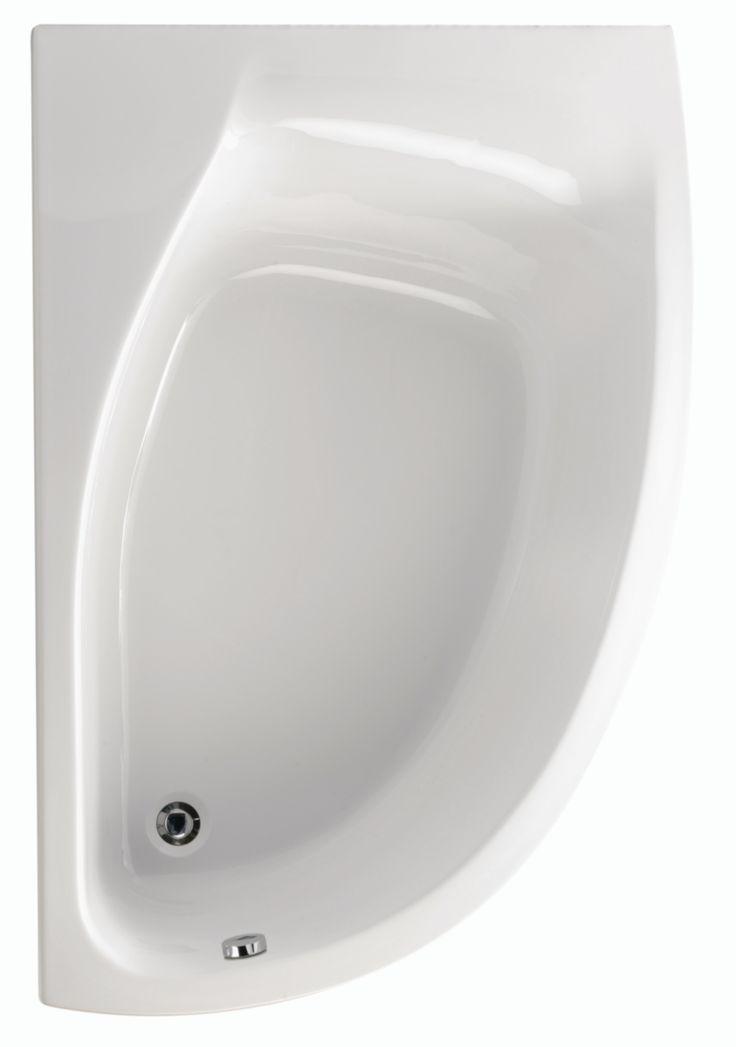 Cette baignoire Plénitude en acrylique présente les caractéristiques suivantes : - Angle asymétrique. - Tablier asymétrique droit 150cm (réf. 3701297) en option.