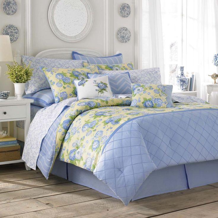 Laura Ashley Salisbury & Yellow Comforter Set
