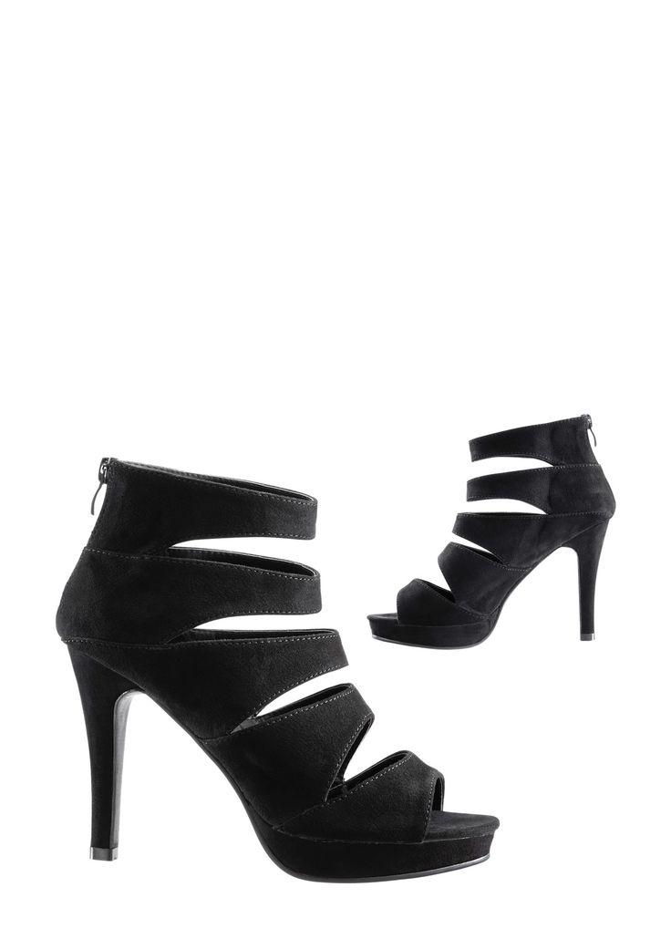 Sandaaltjes, RAINBOW, zwart