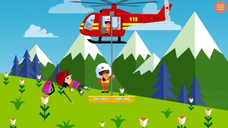 Brinquedos infantil/videos de criançinhas/helicóptero de bombeiros/jogos...