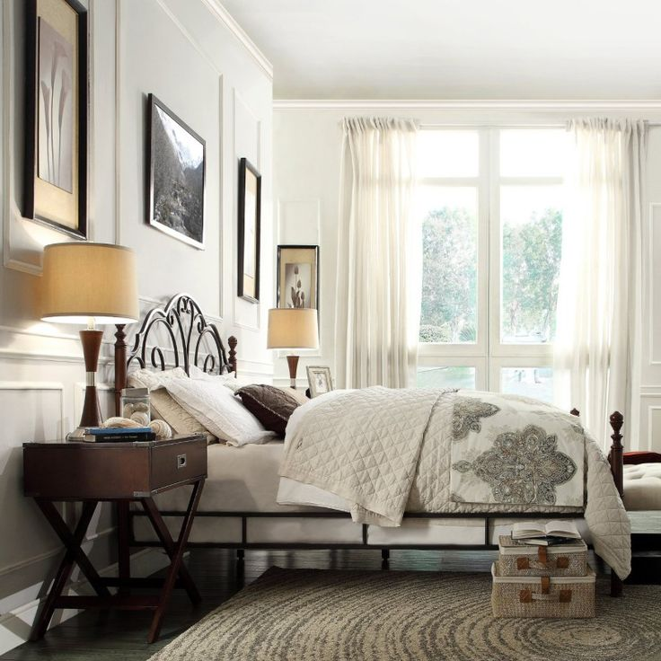 36 best Beds images on Pinterest   Guest bedrooms, Metal beds and ...