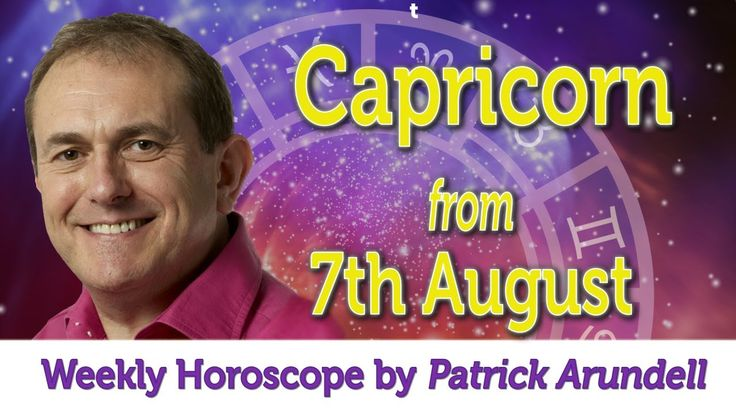 Capricorn Weekly Horoscope from 7th August - 14th August 2017
